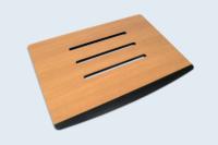 Assise de siège pour mobilier urbain. Matière : METEON® by TRESPA.