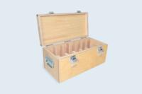 Coffret Industrie avec calages bois pour le rangement de matériel de mesure.