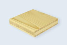 Panneau en bois massif 3-plis, Épicéa.
