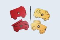 Petites pièces usinées en compact HPL.