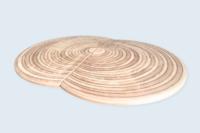 Pièces de moule (1,90 x 1m), contre-collage 4 panneaux CP okoumé (ép. 25mm) et usinage CN.