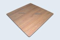 Plateau en compact HPL pour tables terrasses-jardin et CHR.
