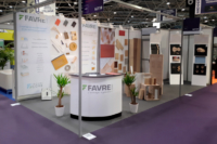 Stand Favre SAS au salon Global Industrie - Midest 2019.