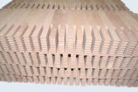 Usinage en grande série d'inserts bois pour moussage.